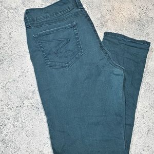 Teal Seven7 Skinny Jeans